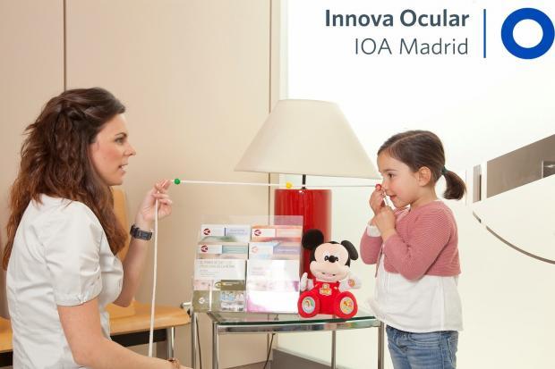 Revisión oftalmológica infantil