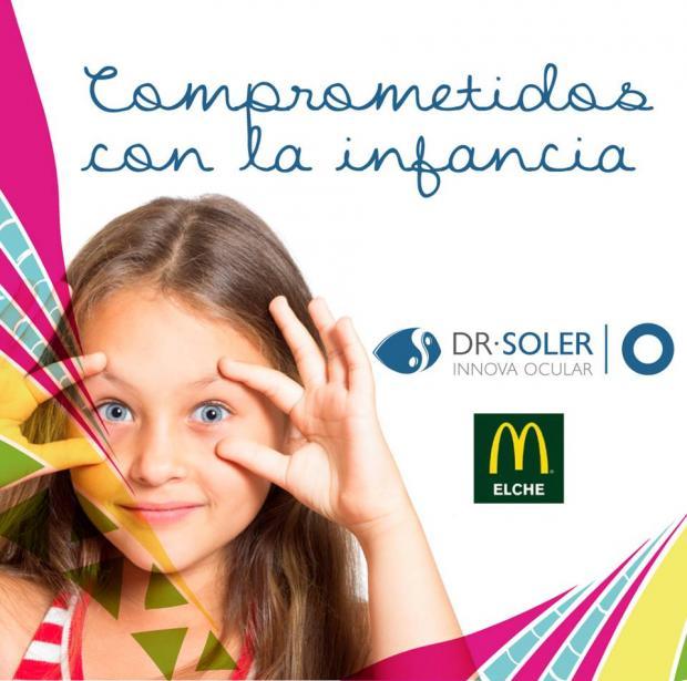 "Campaña ""Comprometidos"" McDonald's Innova Ocular Dr. Soler"
