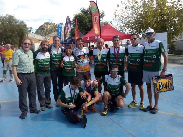 selección andaluza; Carreras por Montañas; CxM; Ricote; FAM