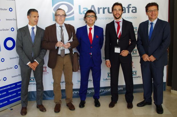 Ignacio Conde; Dr. Juan Manuel Laborda; Dr. Alberto Villarrubia; Dr. Antonio Cano; Rafael Agüera; Fórum Arruzafa 2015