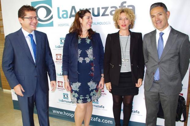 Rafael Agüera; Innova Ocular La Arruzafa; Cristina Bornao; Elisa Santiago; Ignacio Conde