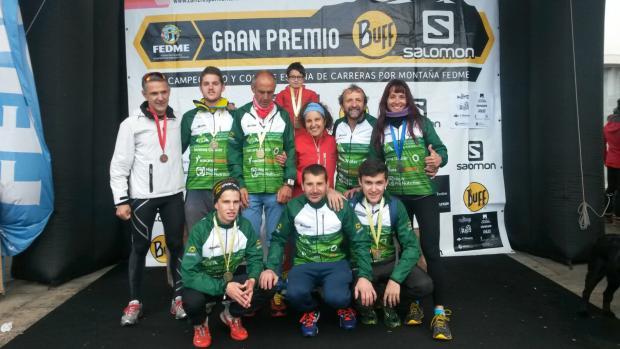 Selección Andaluza; Carreras por Montañas; Federación Andaluza de Montañismo; Lugo; Copa Fedme