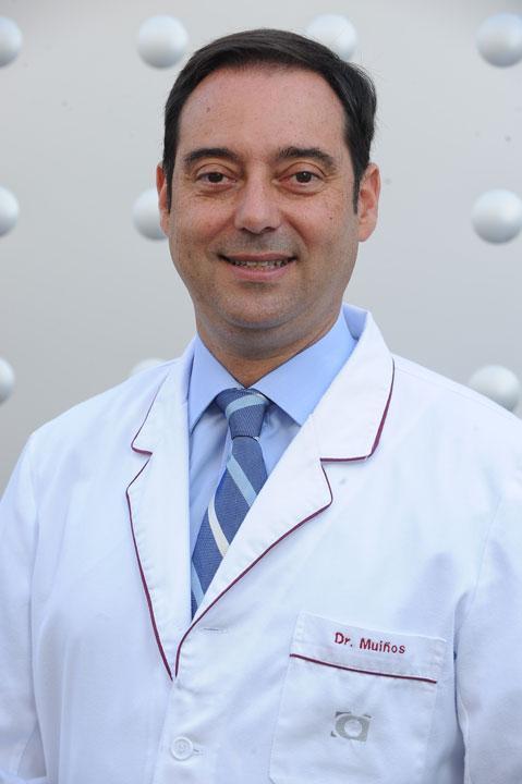 Dr. José Alberto Muiños, director médico de Innova Ocular Clínica Muiños