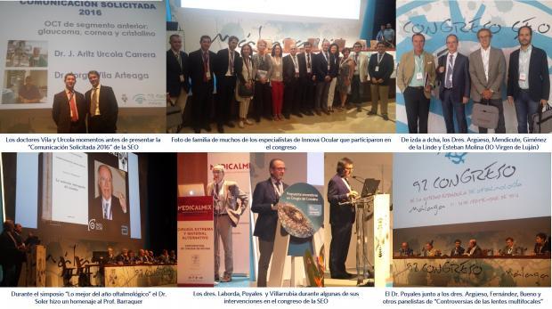 Participación de Innova Ocular en el 92 congreso de la SEO