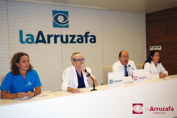 Presentación de la campaña en Innova Ocular La Arruzafa