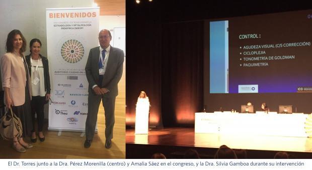 Dr. Diego José Torres; Dra. Beatriz Pérez Morenilla; Amalia Sáez; Dra. Silvia Gamboa; Innova Ocular La Arruzafa; Innova Ocular ICO Barcelona