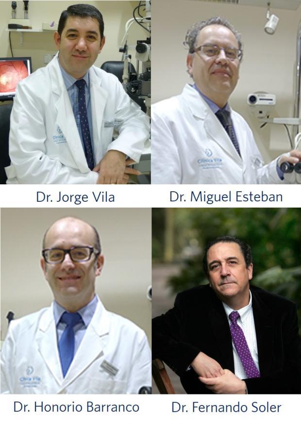 Innova Ocular Clínica Vila; Innova Ocular Clínica Dr. Soler; Dr. Jorge Vila; Dr. Fernando Soler; Dr Honorio Barranco; Dr. Miguel Esteban