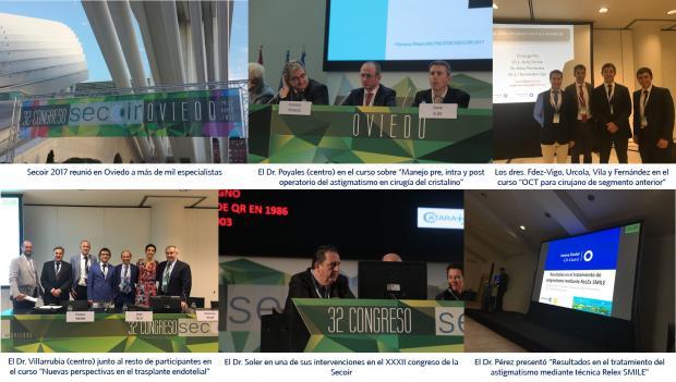 Innova Ocular; Secoir 2017; Dr. Poyales; Dr. Soler; Dr. Vila; Dr. Villarrubia