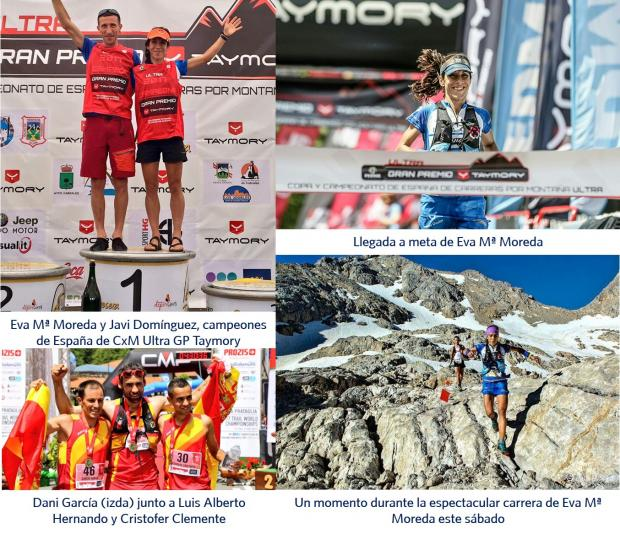 Eva Mª Moreda; Daniel García; Equipo Inverse - Innova Ocular de Carreras por Montañas; CxM Ultra GP Taymory; Travesera Integral Picos de Europa