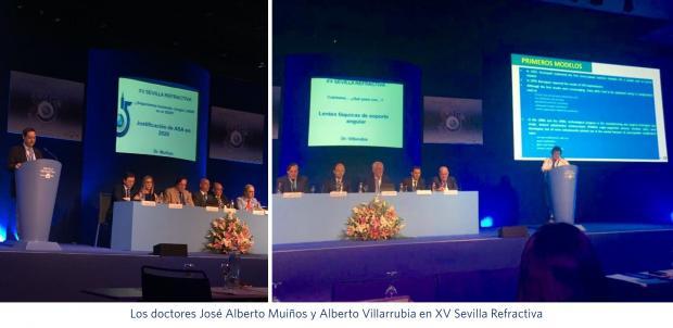 José Alberto Muiños, Alberto Villarrubia, Innova Ocular Clínica Muiños, Innova Ocular La Arruzafa, Sevilla Refractiva