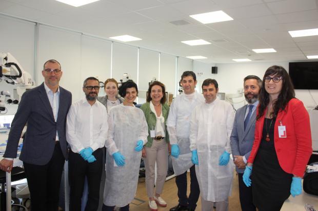 Dra. Oana Stirbu, Dra. Susana Duch, Dr. Jorge Vila, Dr. Aitor Fernández, Alcon, CyPass, Innova Ocular