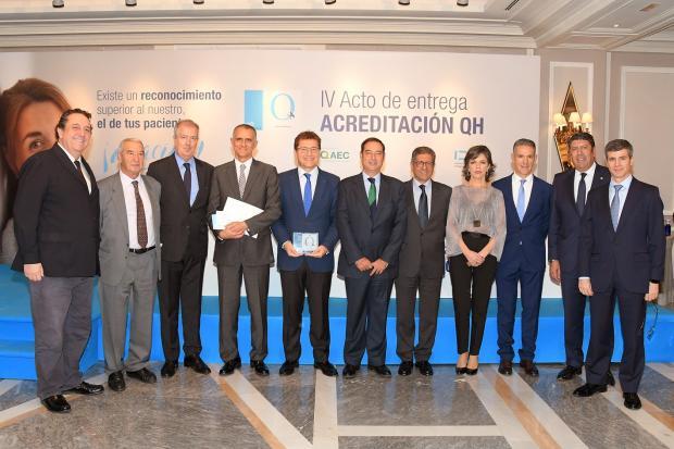 Innova Ocular, QH, IDIS, Fernando Soler, Emilio Vila, David Andreu, Rafael Agüera, Ignacio Conde, José Alberto Muiños