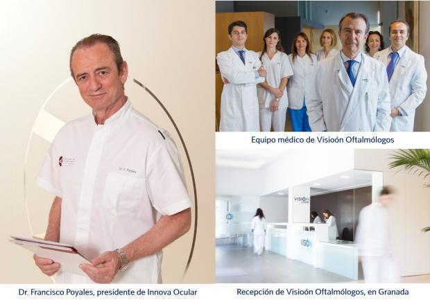 Dr. Francisco Poyales, Visioón Oftalmólogos, Granada, Innova Ocular
