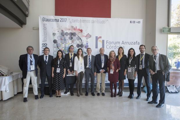 Antonio Hidalgo, Teresa Laborda, Juan Manuel Laborda, Innova Ocular La Arruzafa, Fórum Arruzafa
