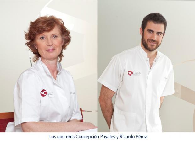 Dra. Concepción Poyales, Dr. Ricardo Pérez, Innova Ocular IOA Madrid