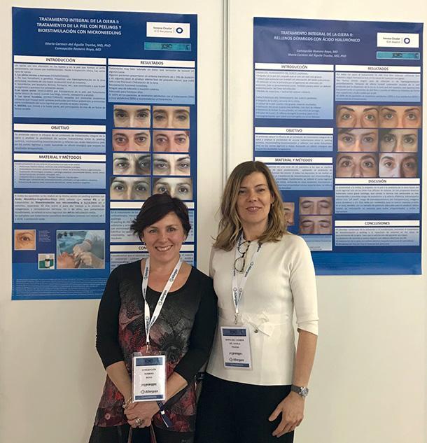 Innova ocular premiado en el congreso de Medicina Estética