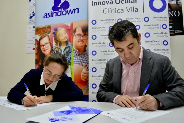 Acuerdo Asindown con IO Clínica Vila