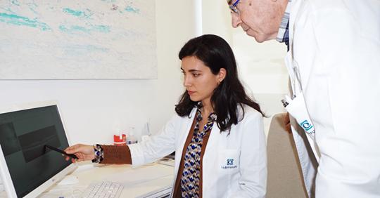 Dra. Consuelo Spínola y Dr. Juan Manuel Laborda