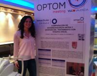 Esther López Artero, de Innova Ocular, en Optom Meeting Valencia