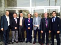 Dr. Antonio Cano, Dr. Francisco Poyales, Dr. Jaime Aramberri, Dr. José Alberto Muiños