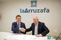 2016 04 20 Rafael Agüera y Manuel Fernández tras firmar la renovación del convenio