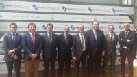 Representantes de Innova Ocular participantes y asistentes a Oftalmo Forum