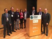 Dr. Soler y Dr. Poyales premio catarata surgery