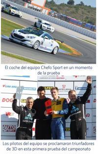 equipo Chefo Sport; Innova Ocular IOA Madrid, Campeonato de España de Resistencia