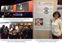 Innova Ocular ICO Barcelona, Susana Duch, Stefania Piludu, 7th World Glaucoma Congress