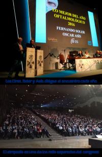 Lo mejor del Año Oftalmológico, SEO, Zaragoza, Dr. Fernando Soler