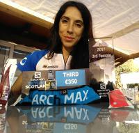 Eva María Moreda, Equipo Inverse - Innova Ocular, Salomon Sky Line Ben Nevis Ultra